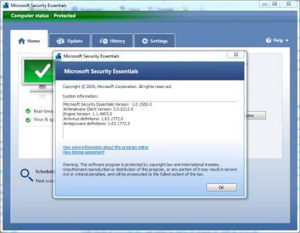 Microsoft essential manual update download