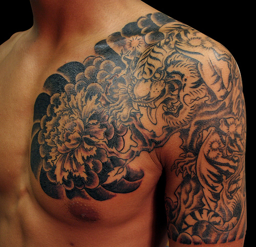Tiger Tribal Tattoos-2