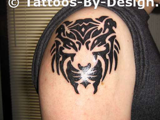 Tiger Tribal Tattoos-6