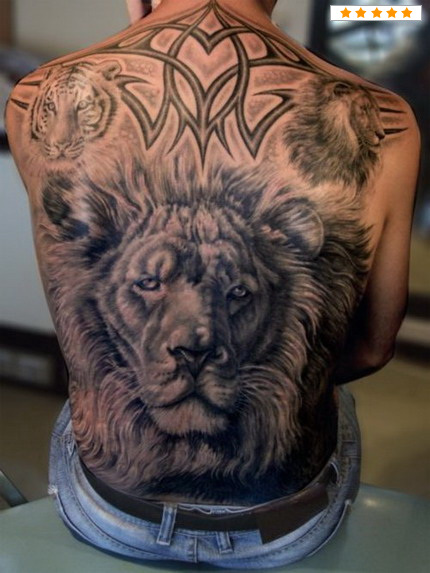 Tiger Tribal Tattoos-7