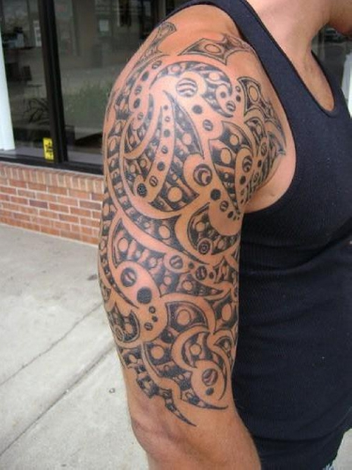 Tribal Sleeve Tattoos Designs-3