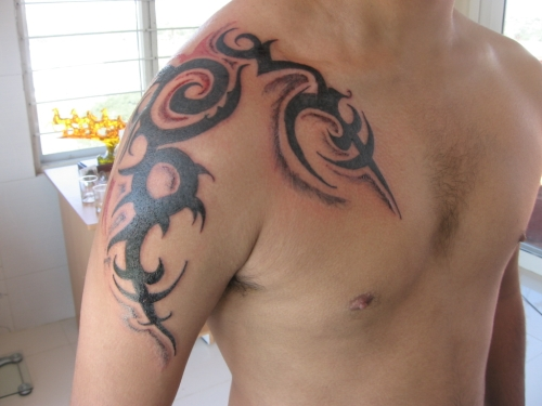 Tribal Tattoos Designs for Shoulder-7