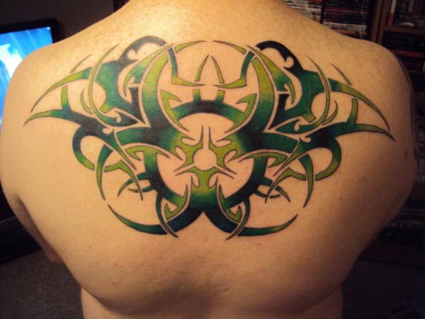 Upper Back Tribal Tattoo Designs-6