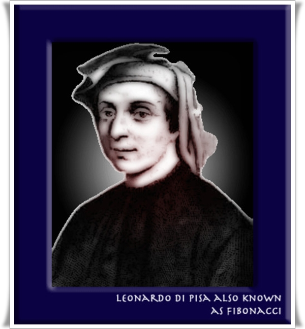 leonardo fibonacci biography Fibonacci is one of the most famous names in mathematics this would come as a surprise to leonardo pisano, the mathematician we now know by that name and he might have been equally surprised that he has been immortalised in the famous sequence – 0, 1, 1, 2, 3, 5, 8, 13 – rather than for what is.