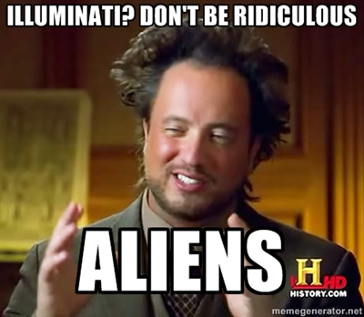 ancient aliens meme 17