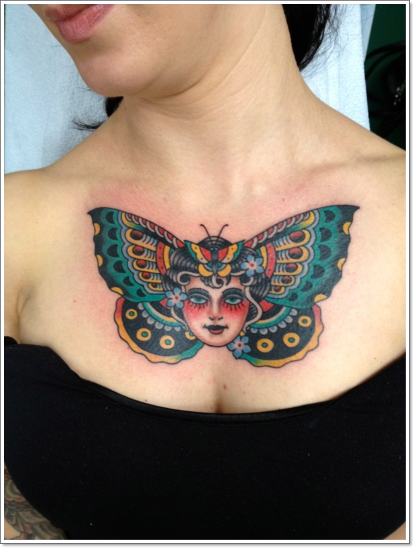 Chest-Butterfly-Tattoos-for-Women