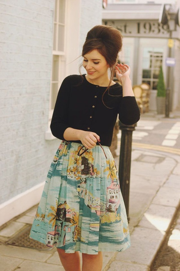 fabulous retro outfit inspiration