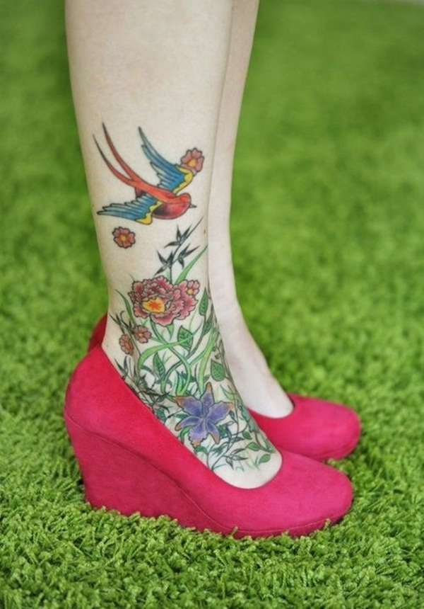 foot tattoo design (12)