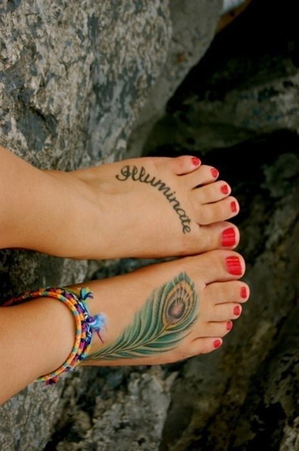 Foot Tattoo Design 44