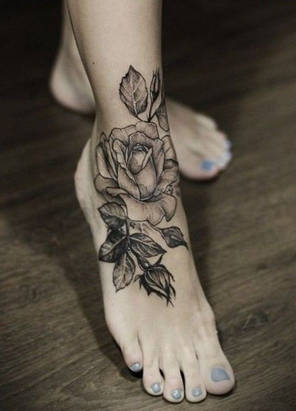 foot tattoo design (53)