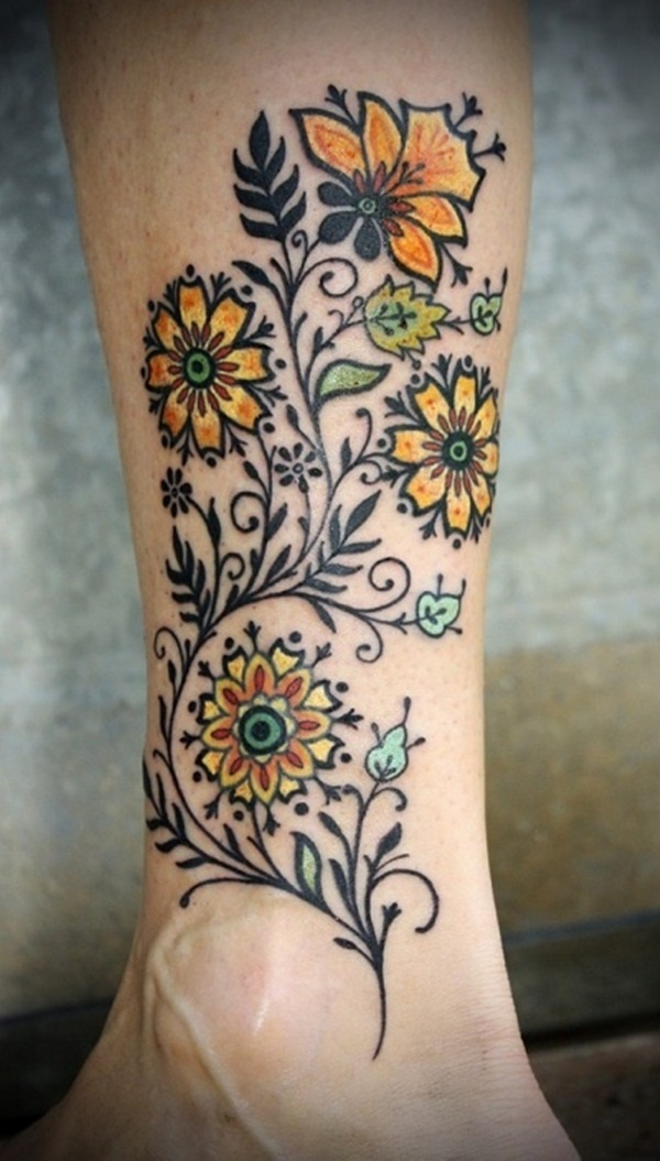 foot tattoo design (66)