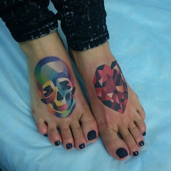 foot tattoo design (81)