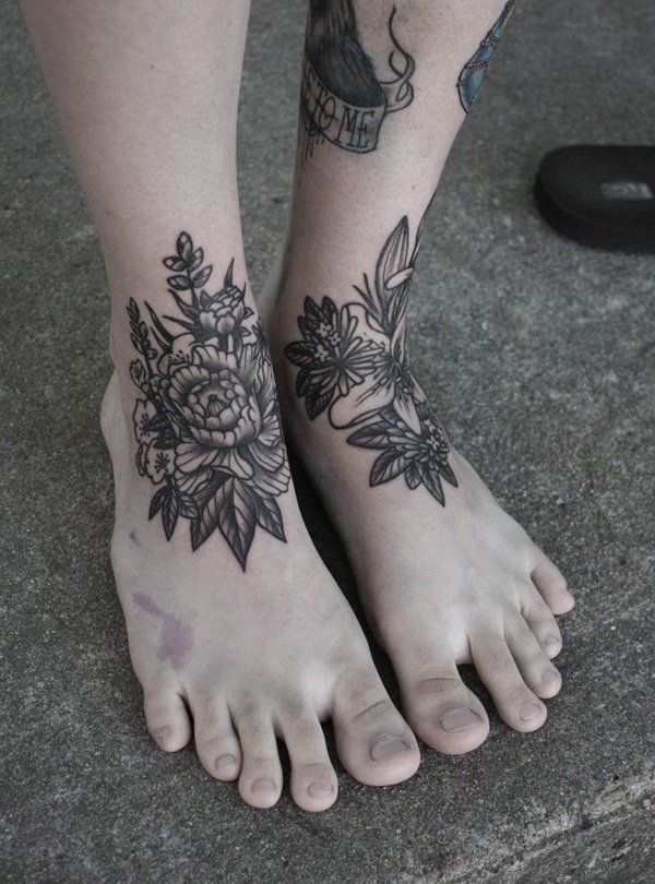 foot tattoo design (83)