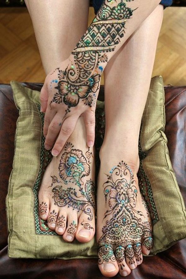 What Colors Can Natural Henna Tattoo Work