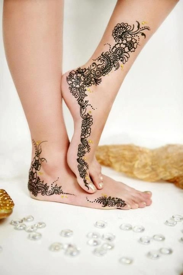 100 Striking Henna Tattoos Design For Girls