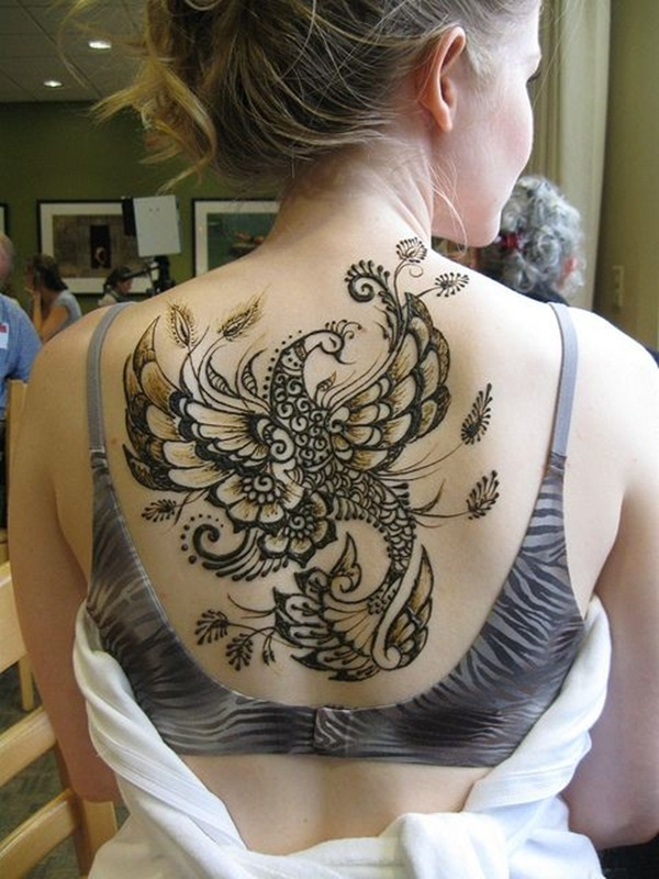 Peacock Tattoo Designs On Shoulder