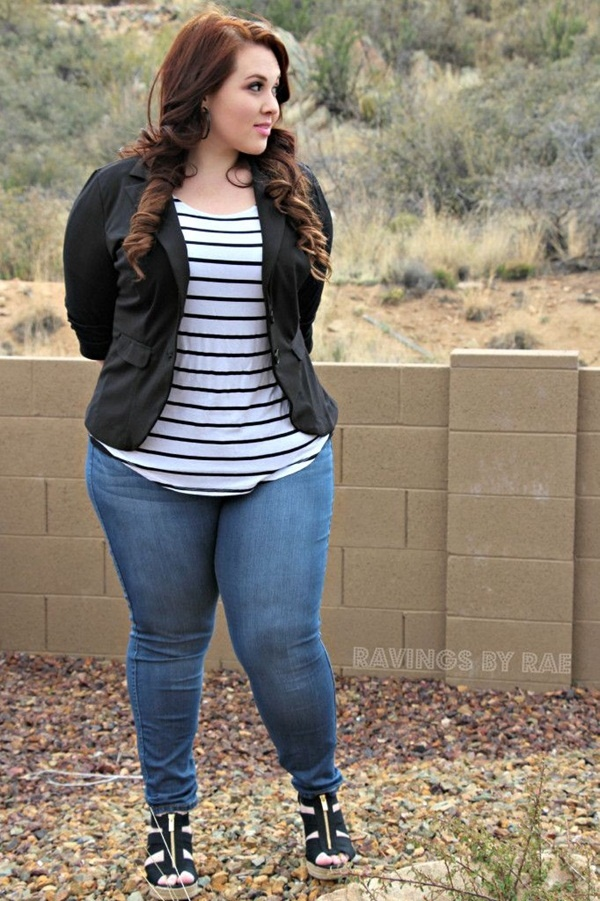 Collection Stylish Plus Size Jeans Pictures - Reikian