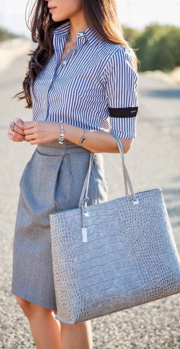 grey skirt outfit (48)