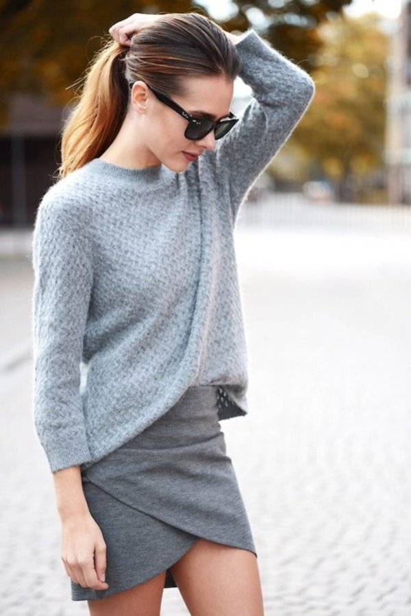 grey skirt outfit (65)