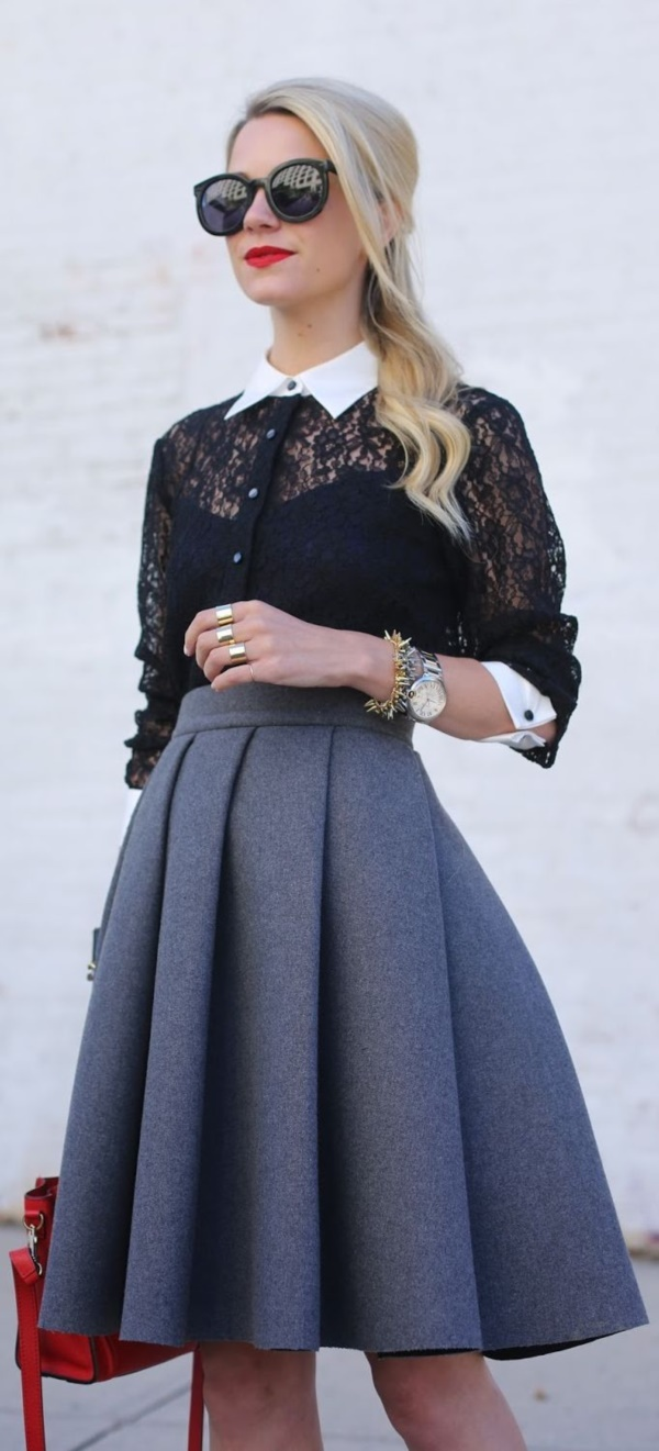 grey skirt outfit (69)