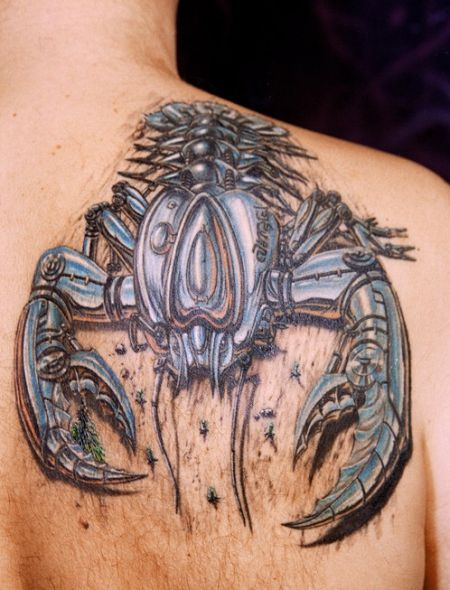Scorpion Tribal Tattoos-9