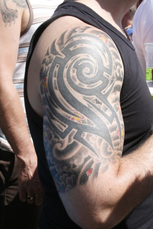 Tribal Sleeve Tattoos Designs-5