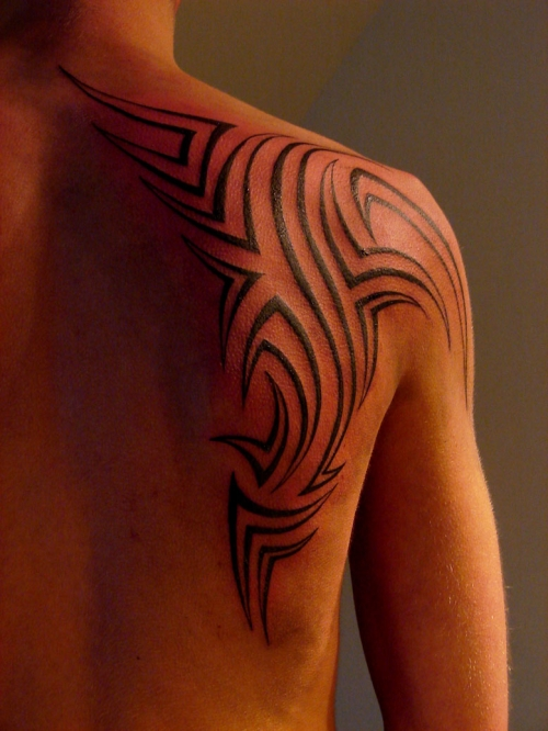 Tribal Tattoos Designs for Shoulder-10