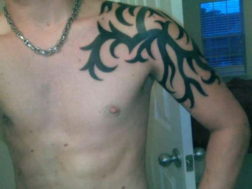 Tribal Tattoos Designs for Shoulder-4