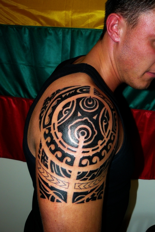 Tribal Tattoos Designs for Shoulder-9