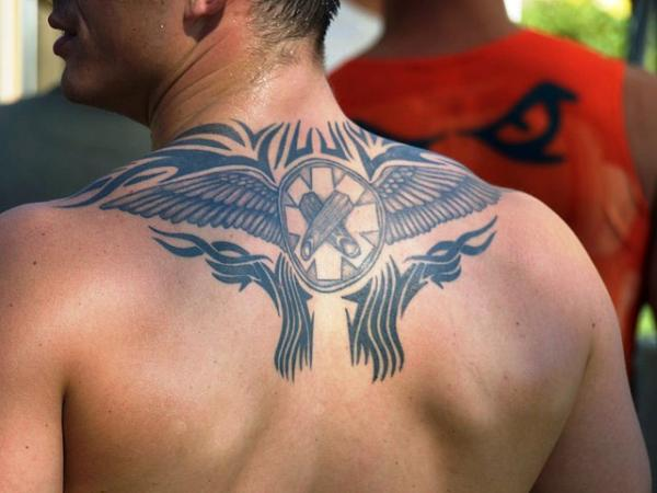 Upper Back Tribal Tattoo Designs-5