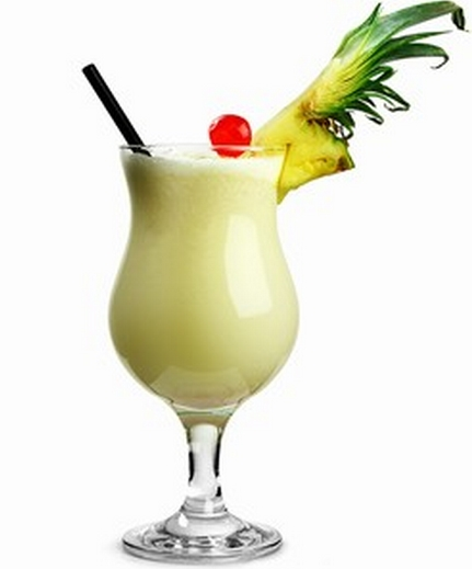 Pineapple And Coconut Mixed Drink