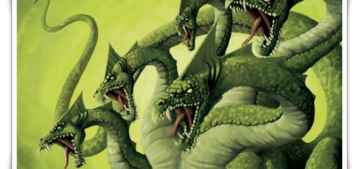 list of ancient greek mythological creatures hydra