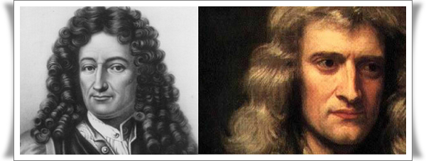 Isaac Newton and Wilhelm Leibniz 1