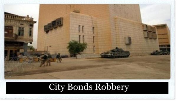 3-City Bonds Robbery