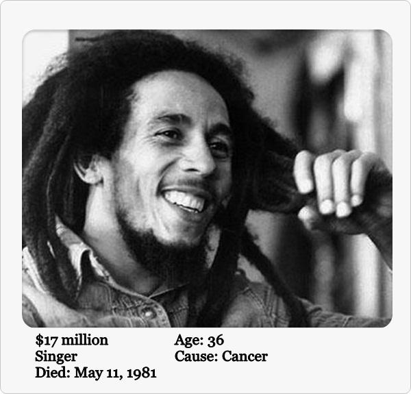 5-Bob Marley