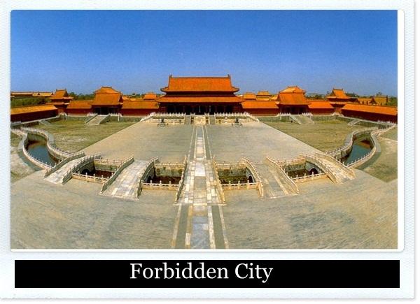 9-Forbidden City, China