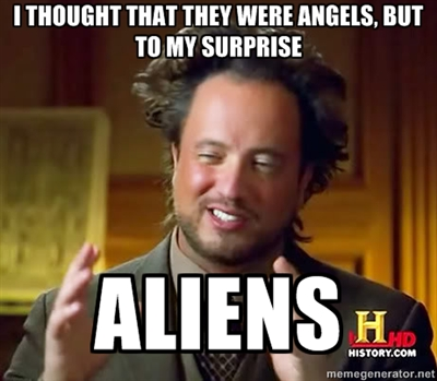 ancient aliens meme 14