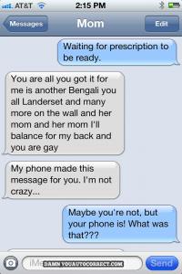 i think you're crazy actually