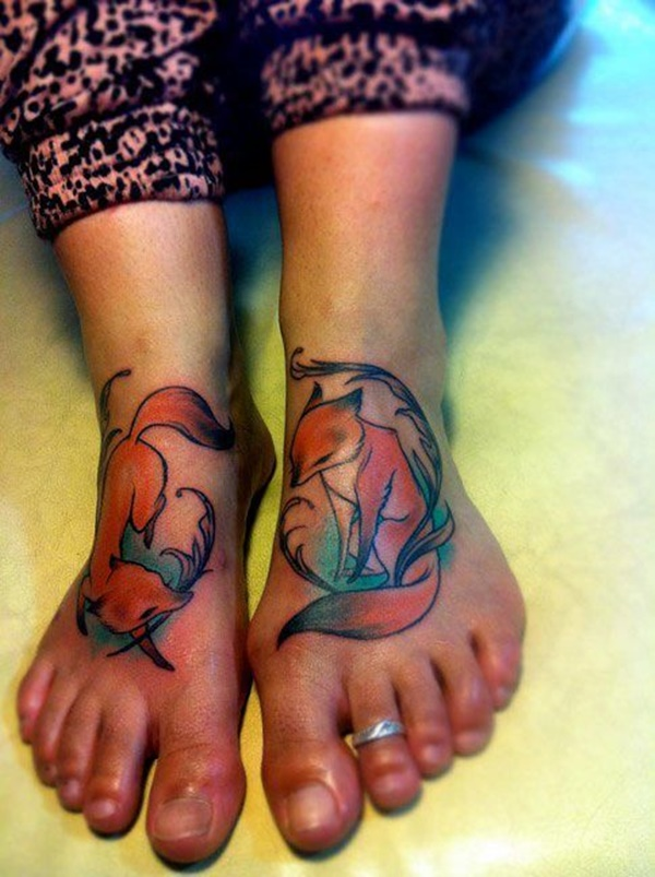 foot tattoo design (2)