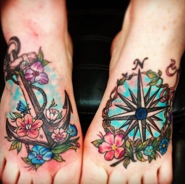 foot tattoo design (42)
