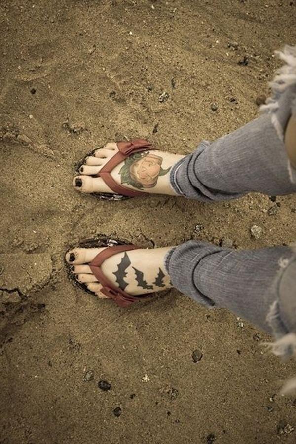 foot tattoo design (62)