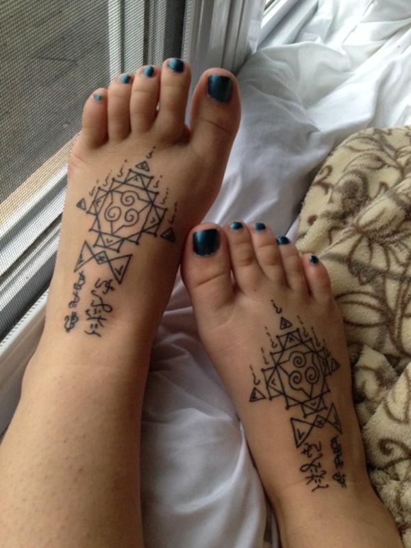 foot tattoo design (98)