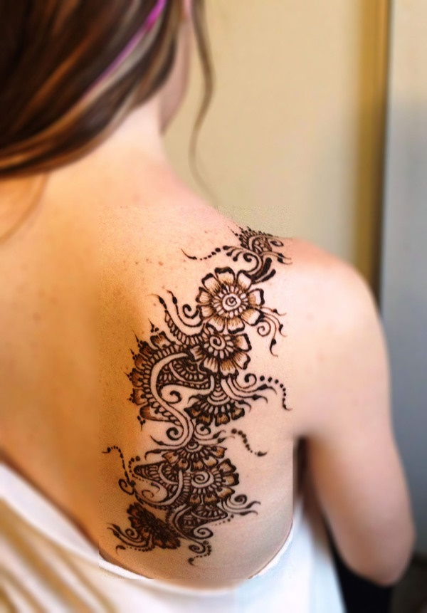 100 striking henna tattoos design for girls. Black Bedroom Furniture Sets. Home Design Ideas