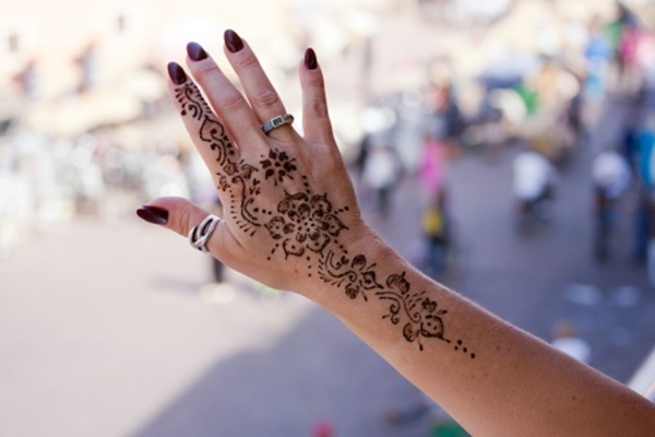 Henna Flower Tattoo Designs Wrist: 100 Striking Henna Tattoos Design For Girls