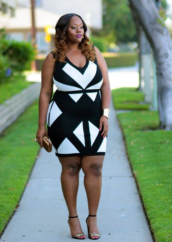 Sexy plus size looks