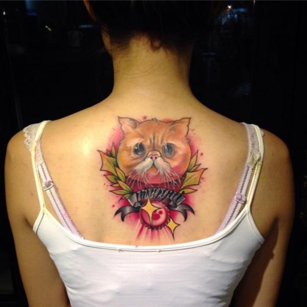 cat tattoo designs (27)