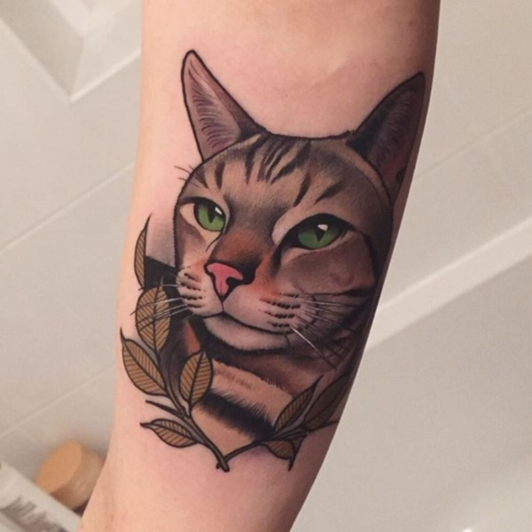 100 Cute And Cool Cat Tattoo Designs For The Cat Lovers