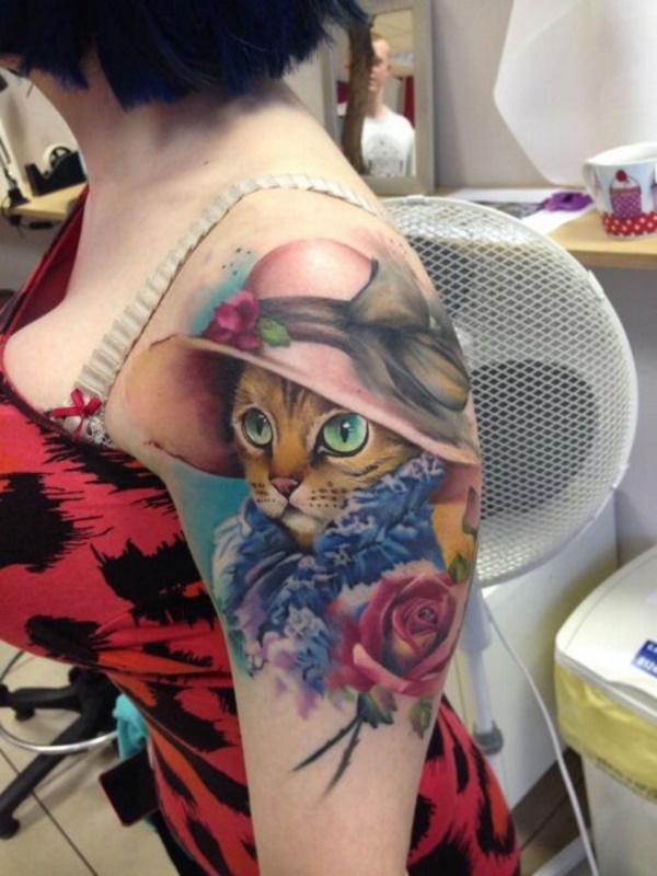 cat tattoo designs (40)