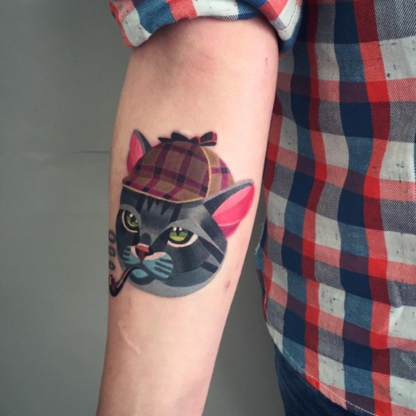 cat tattoo designs (45)