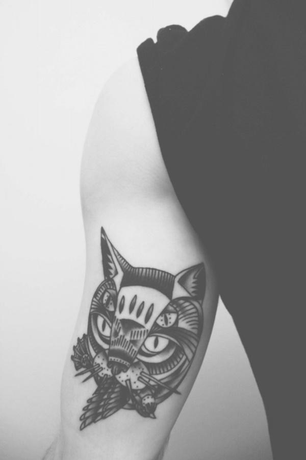 cat tattoo designs (49)